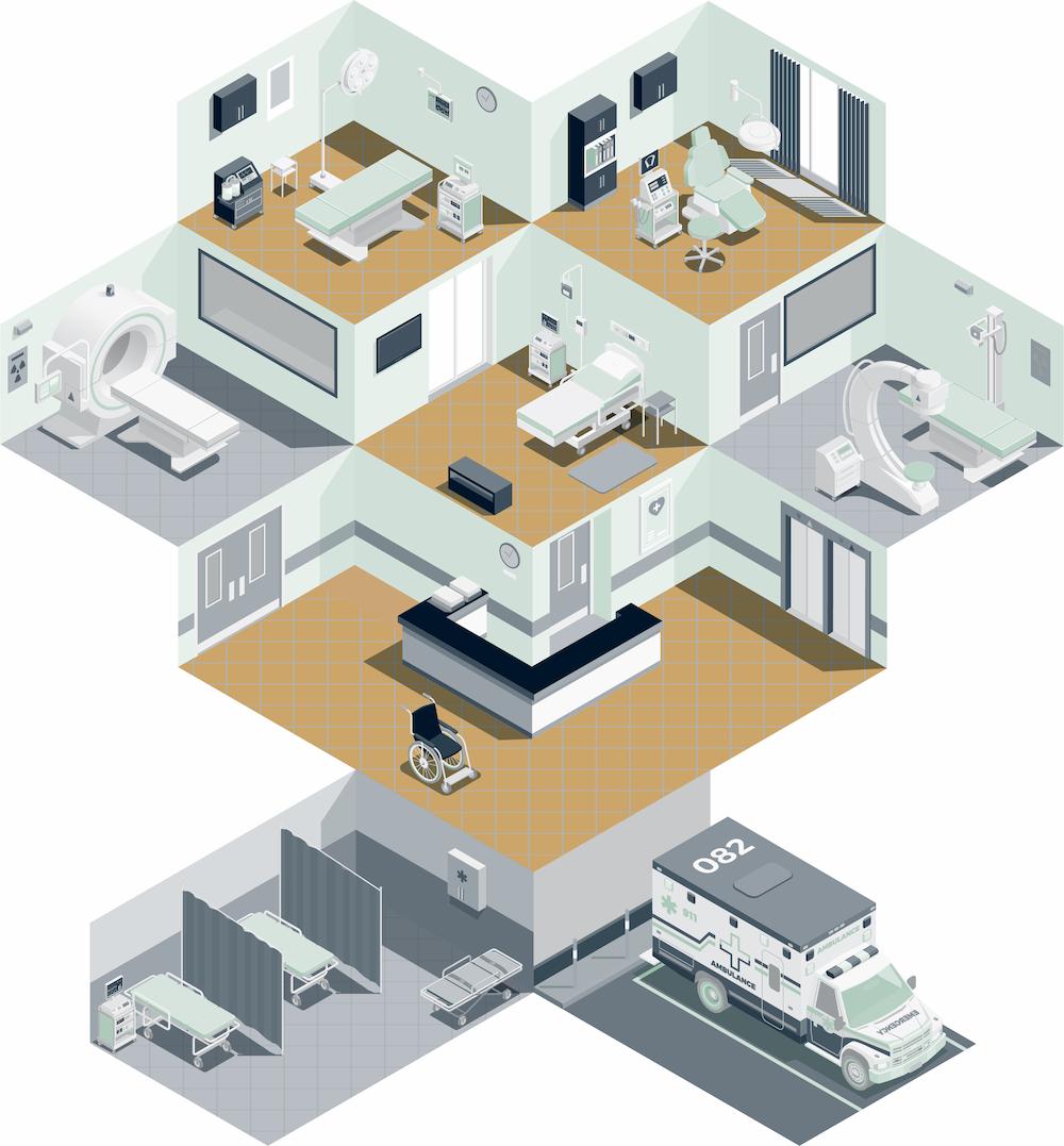 hospital  kilowa  commercial kitchen design  laundry